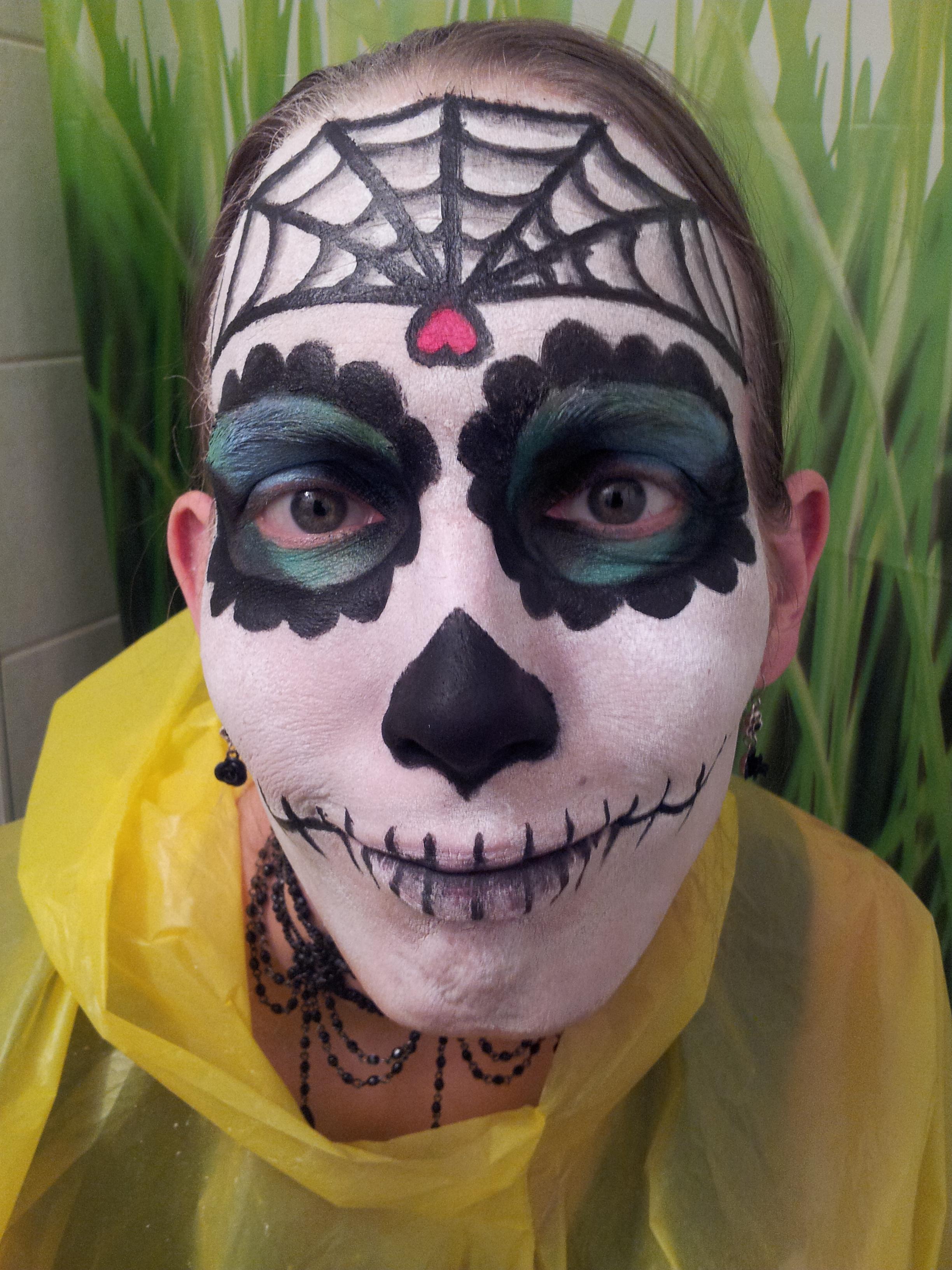 Sugar Skull Face Paint – Inkblade Studios