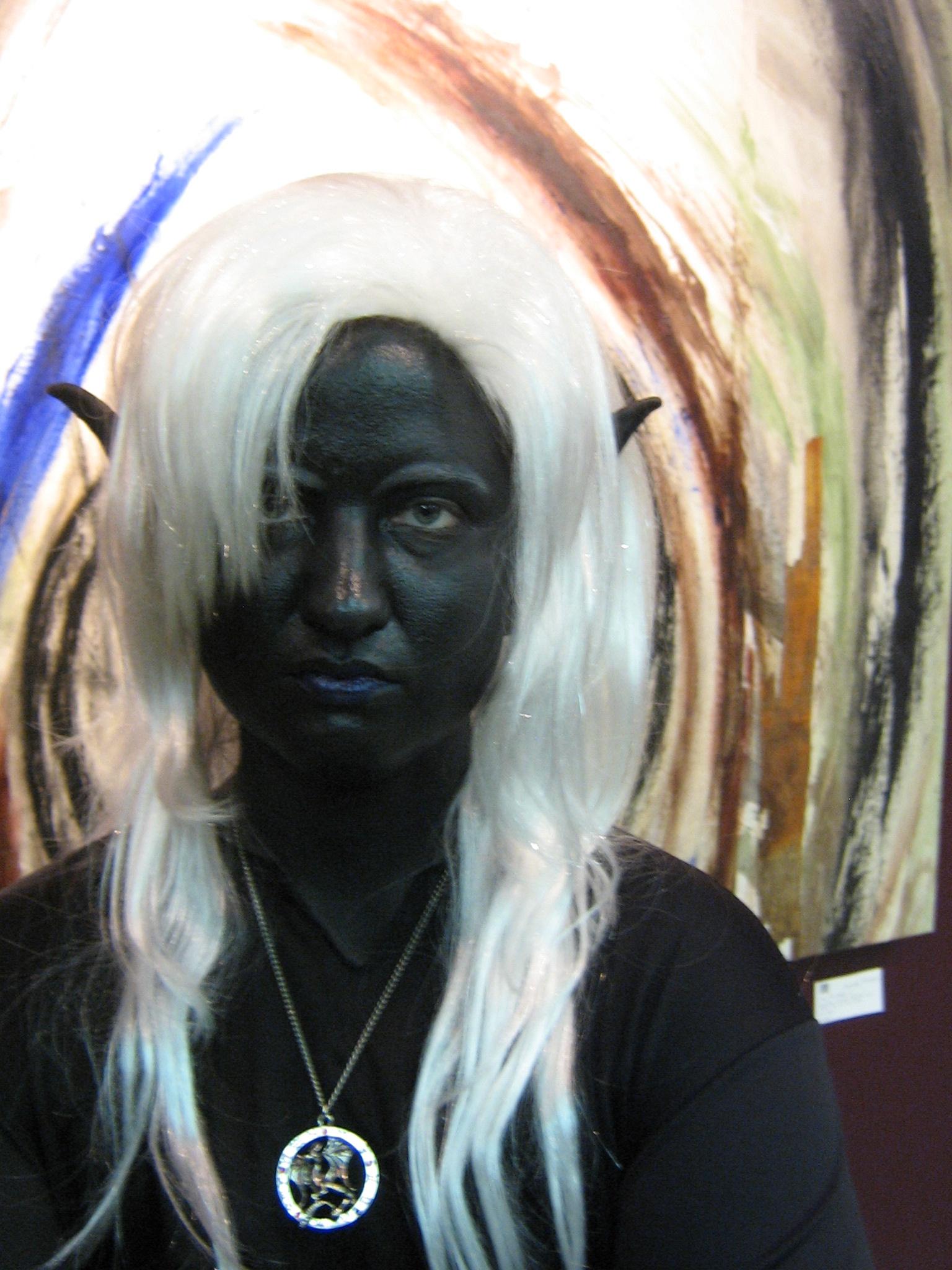 How To Drow Dark Elf Makeup That Lasts Inkblade Studios
