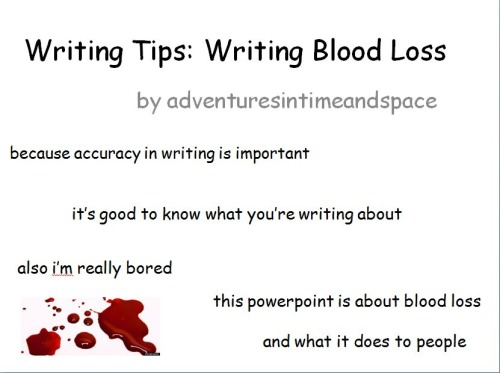 The Effects ofBloodloss