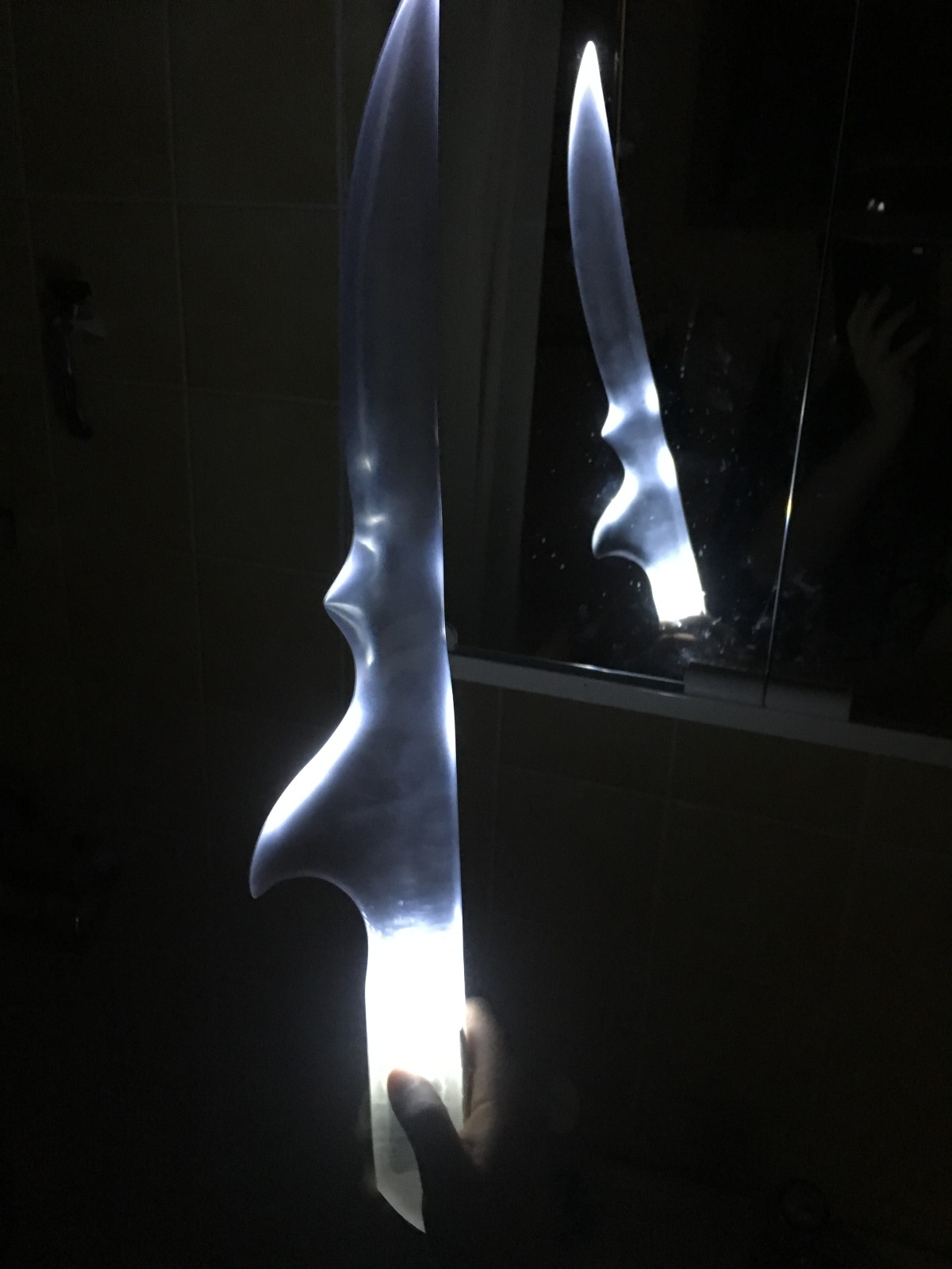 A Sneak Peek at Glowing Blades
